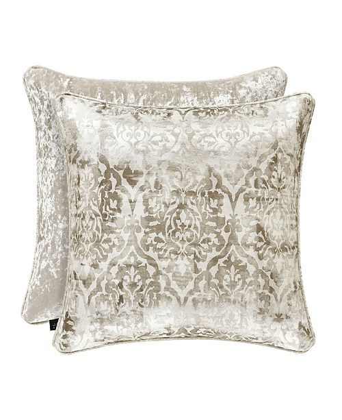 "J Queen New York J. Queen New York Dream 20"" Square Decorative Pillow"