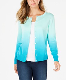 Charter Club Ombré Cardigan, Created for Macy's