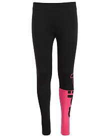 adidas Big Girls Linear Split Athletic Tights