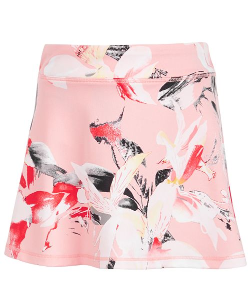 Ideology Little Girls Floral-Print Skort, Created for Macy's