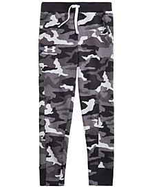 Under Armour Big Boys Rival Camo-Print Jogger Pants
