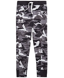 Under Armour Big Boys Rival Camo-Print Jogger Pants