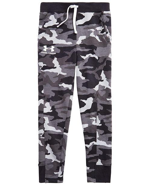 najbardziej popularny Gdzie mogę kupić Nowy Jork Big Boys Rival Camo-Print Jogger Pants