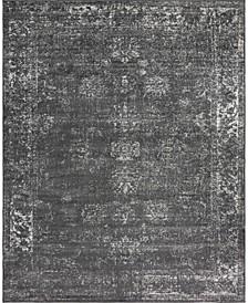 Basha Bas1 Dark Gray Area Rug Collection