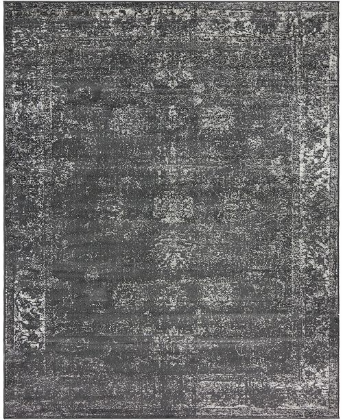 Bridgeport Home Basha Bas1 Dark Gray Area Rug Collection