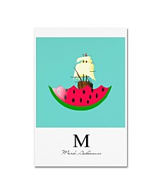 "Mark Ashkenazi 'Watermelon 1' Canvas Art - 16"" x 24"""