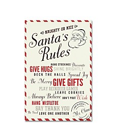 "Lantern Press 'Santa Claus 1' Canvas Art - 16"" x 24"""