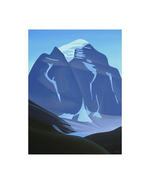 "Trademark Global Ron Parker 'Mt. Temple' Canvas Art - 18"" x 24"""