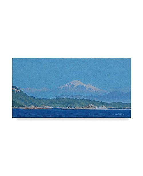 """Trademark Global Ron Parker 'Mt Baker' Canvas Art - 16"""" x 32"""""""