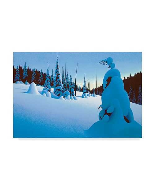 "Trademark Global Ron Parker 'Snowy Dawn' Canvas Art - 16"" x 24"""