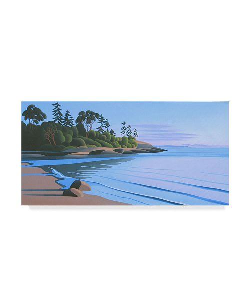 "Trademark Global Ron Parker 'Arbutus Cove Dawn' Canvas Art - 16"" x 32"""