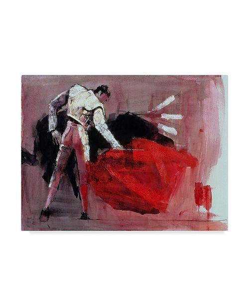 "Trademark Global Mark Adlington 'Matador' Canvas Art - 18"" x 24"""