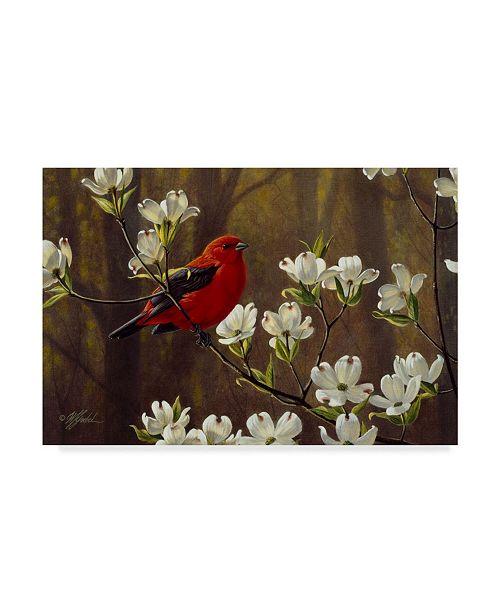 "Trademark Global Wilhelm Goebel 'Spring Light' Canvas Art - 16"" x 24"""
