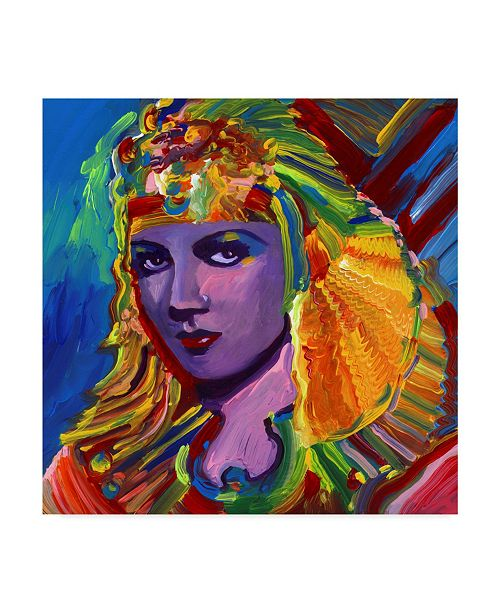 "Trademark Global Howie Green 'Claudette Colbert Cleopatra' Canvas Art - 24"" x 24"""