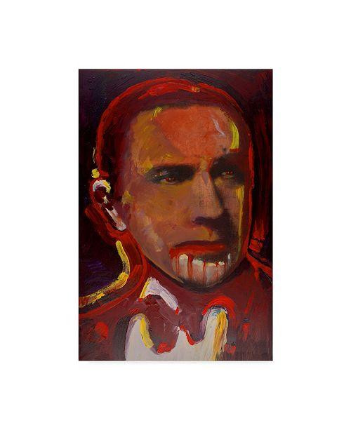 "Trademark Global Howie Green 'Bela Legosi' Canvas Art - 22"" x 32"""