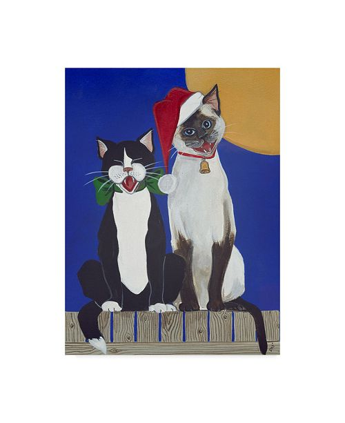 "Trademark Global Jan Panico 'Herald Angels Sing' Canvas Art - 24"" x 32"""