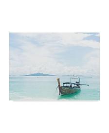 "Jason Matias 'Thailand Boats Ii' Canvas Art - 19"" x 14"""