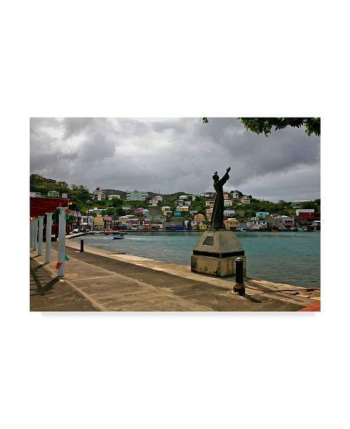"Trademark Global J.D. Mcfarlan 'Grenada 1' Canvas Art - 19"" x 12"""