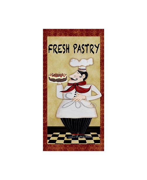 "Trademark Global Jean Plout 'Chefs 1' Canvas Art - 10"" x 19"""