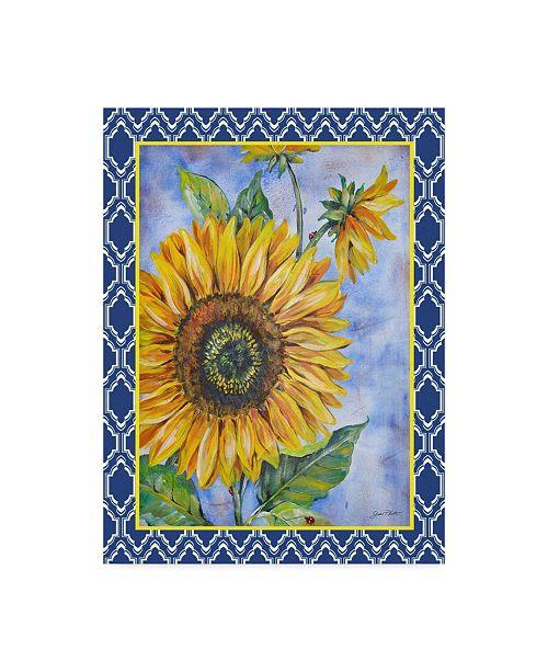 "Trademark Global Jean Plout 'Audreys Sunflower' Canvas Art - 18"" x 24"""