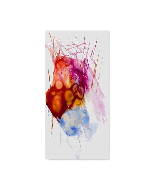 """Trademark Global Masters Fine Art 'Abstract Number 04' Canvas Art - 24"""" x 47"""""""