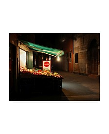 "Les Mumm 'Late Night Snack' Canvas Art - 24"" x 18"""