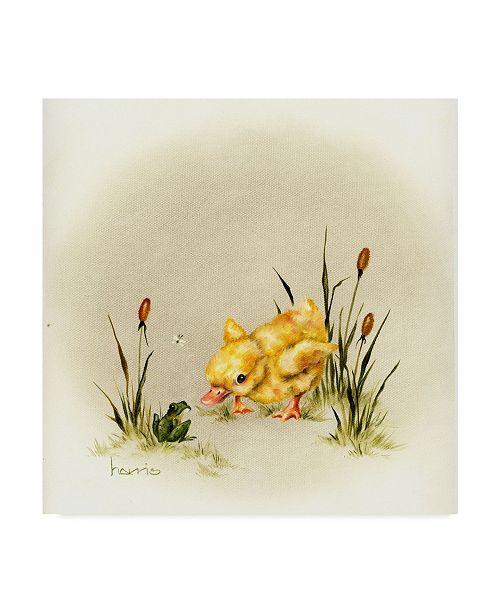 "Trademark Global Peggy Harris 'Its Always Something' Canvas Art - 18"" x 18"""