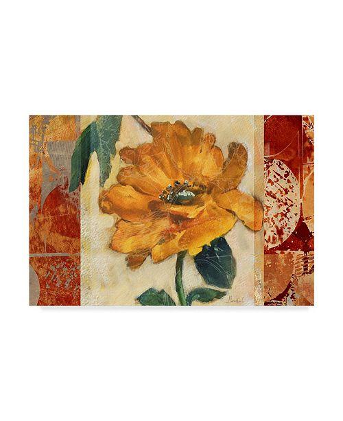 """Trademark Global Marietta Cohen Art And Design 'Golden Blossom 1' Canvas Art - 24"""" x 16"""""""
