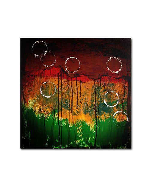 "Trademark Global Nicole Dietz 'The Ridges' Canvas Art - 18"" x 18"""