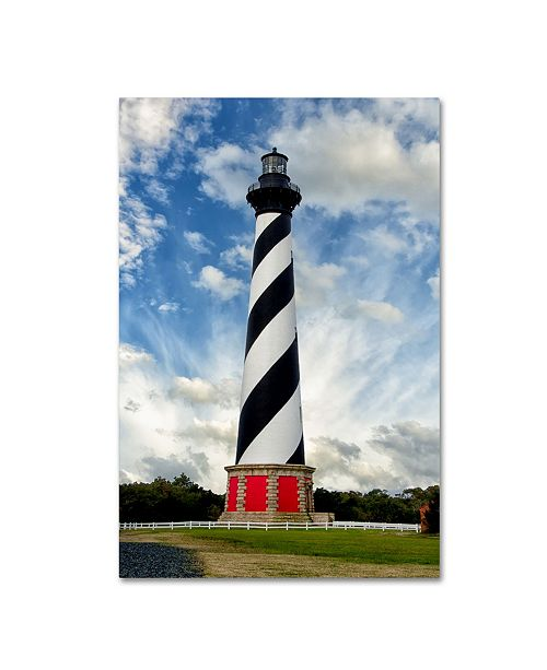 "Trademark Global PIPA Fine Art 'Cape Hatteras Lighthouse' Canvas Art - 22"" x 32"""