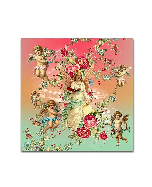 "Trademark Global Mark Ashkenazi 'Roses 3' Canvas Art - 24"" x 24"""