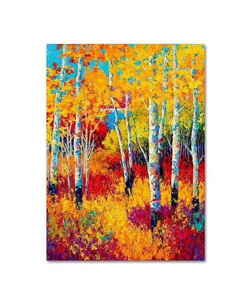 "Trademark Global Marion Rose 'Autumn Dreams' Canvas Art - 24"" x 32"""