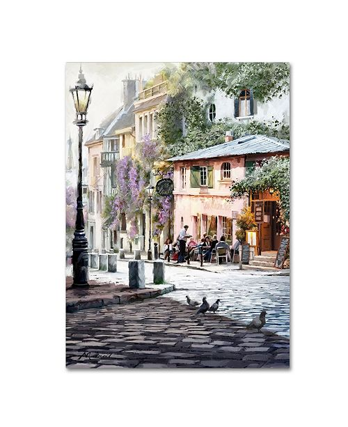 "Trademark Global The Macneil Studio 'Sunshine Cafe' Canvas Art - 35"" x 47"""
