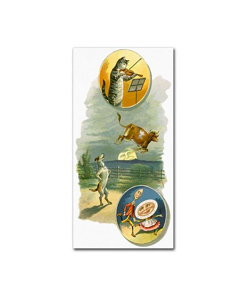 "Trademark Global Vintage Apple Collection 'CA Fairy 65' Canvas Art - 24"" x 47"""