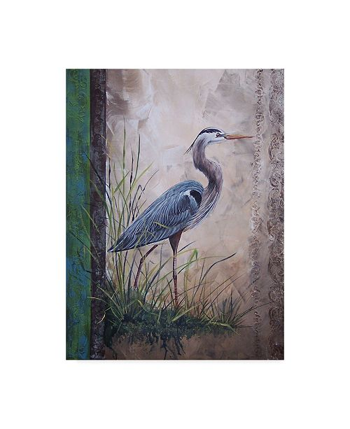 """Trademark Global Jean Plout 'In The Reeds' Canvas Art - 24"""" x 32"""""""