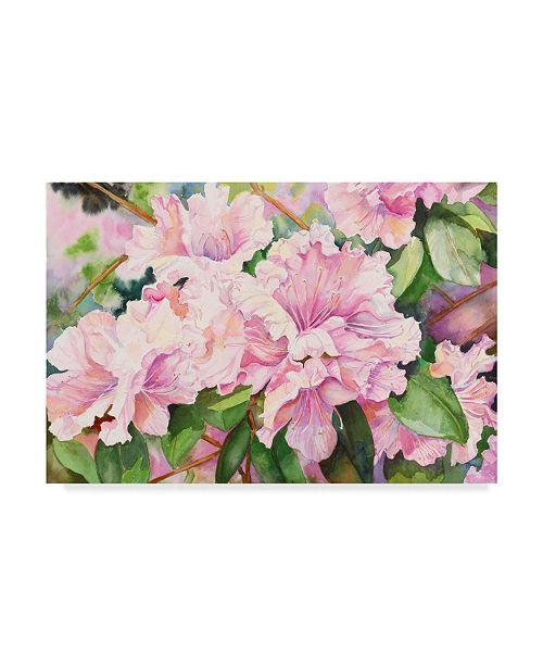 "Trademark Global Joanne Porter 'Sun Lit Azalea' Canvas Art - 22"" x 32"""