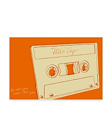 "John W. Golden 'Lunastrella Mix Tape' Canvas Art - 30"" x 47"""