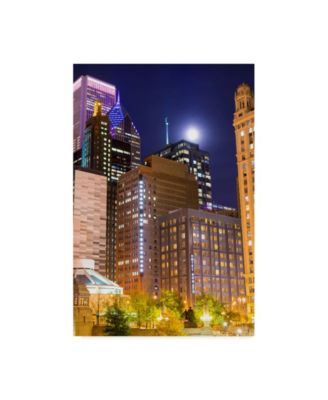 NjR Photos 'Moonlit Steakhouse' Canvas Art - 30