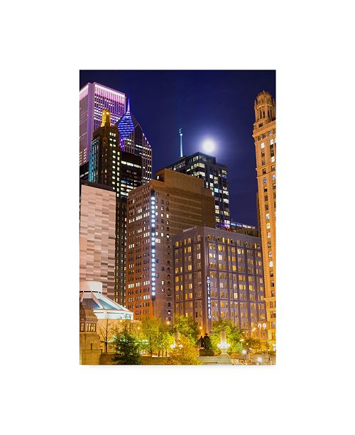 "Trademark Global NjR Photos 'Moonlit Steakhouse' Canvas Art - 30"" x 47"""