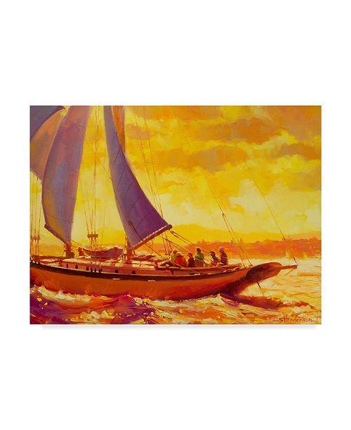 """Trademark Global Steve Henderson 'Golden Opportunity' Canvas Art - 24"""" x 32"""""""