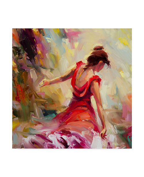 "Trademark Global Steve Henderson 'Dancer' Canvas Art - 24"" x 24"""