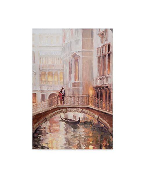 "Trademark Global Steve Henderson 'Together In Venice' Canvas Art - 22"" x 32"""