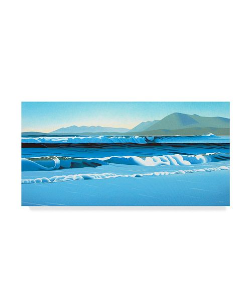 """Trademark Global Ron Parker 'Pacific Surf' Canvas Art - 24"""" x 47"""""""