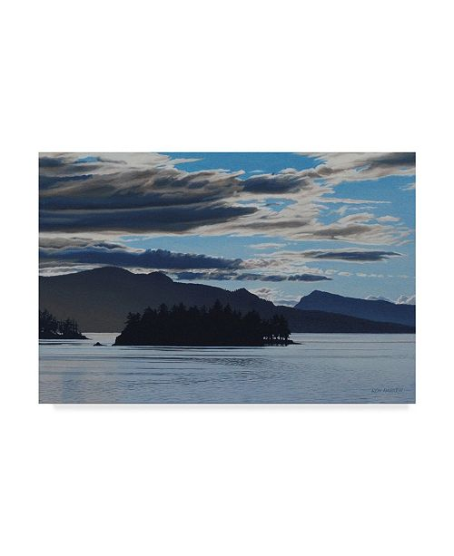 "Trademark Global Ron Parker 'Gulf Islands Evening' Canvas Art - 30"" x 47"""
