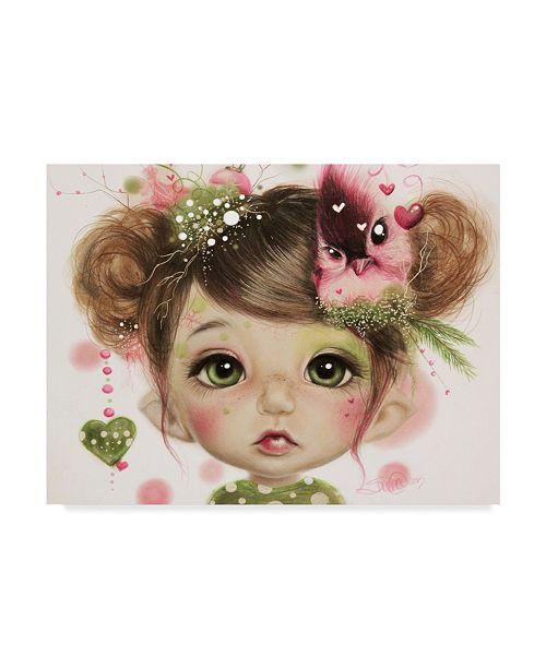 "Trademark Global Sheena Pike Art And Illustration 'Penelope' Canvas Art - 35"" x 47"""