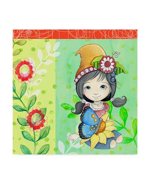"Trademark Global Valarie Wade 'Little Friends' Canvas Art - 24"" x 24"""