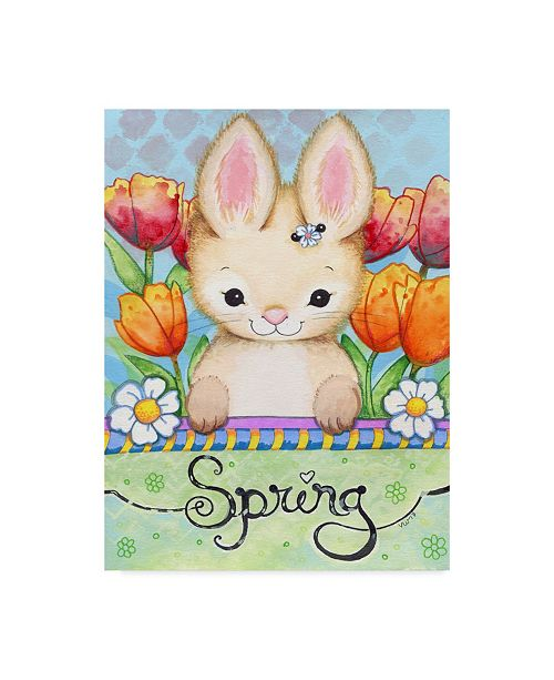 "Trademark Global Valarie Wade 'Sweet Spring' Canvas Art - 35"" x 47"""