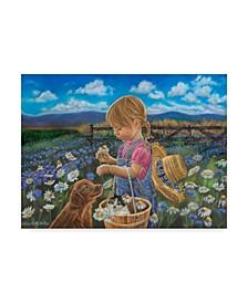 "Tricia Reilly-Matthews 'Country Girl' Canvas Art - 24"" x 32"""