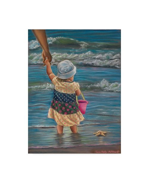 """Trademark Global Tricia Reilly-Matthews 'In My Fathers Hands' Canvas Art - 35"""" x 47"""""""
