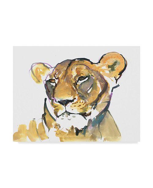 "Trademark Global Mark Adlington 'The Lioness' Canvas Art - 24"" x 32"""